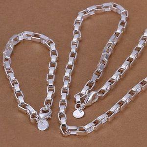 NEW Stamped 925 Sterling Silver Necklace Bracelet